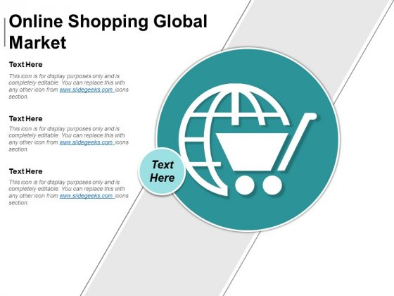 Online Shopping Global Market Ppt PowerPoint Presentation Gallery Rules