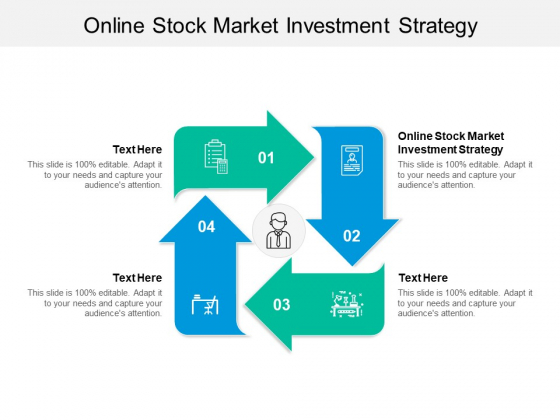 Online Stock Market Investment Strategy Ppt PowerPoint Presentation Infographics Background Image Cpb