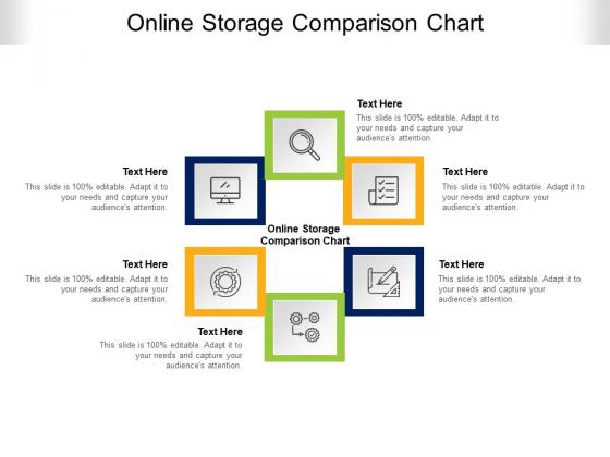 Online Storage Comparison Chart Ppt PowerPoint Presentation Show Topics Cpb Pdf