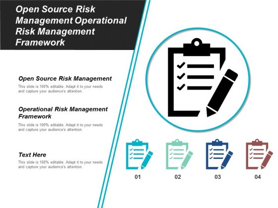 Open Source Risk Management Operational Risk Management Framework Ppt PowerPoint Presentation Gallery Graphics Pictures