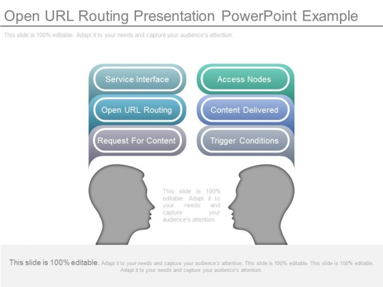 Open Url Routing Presentation Powerpoint Example