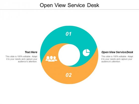 Open View Service Desk Ppt PowerPoint Presentation File Example File Cpb