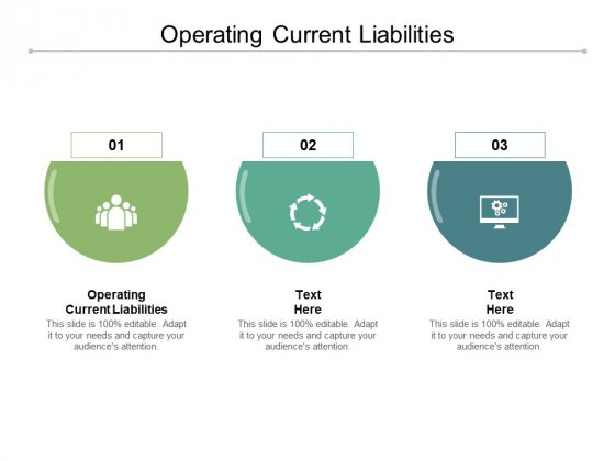 Operating Current Liabilities Ppt PowerPoint Presentation Icon Visuals Cpb