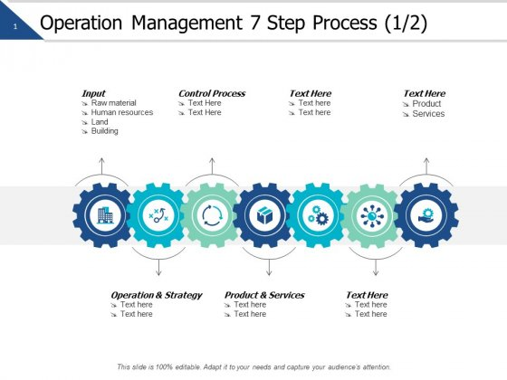 Operation Management Strategy Step Process Management Ppt PowerPoint Presentation Show Example