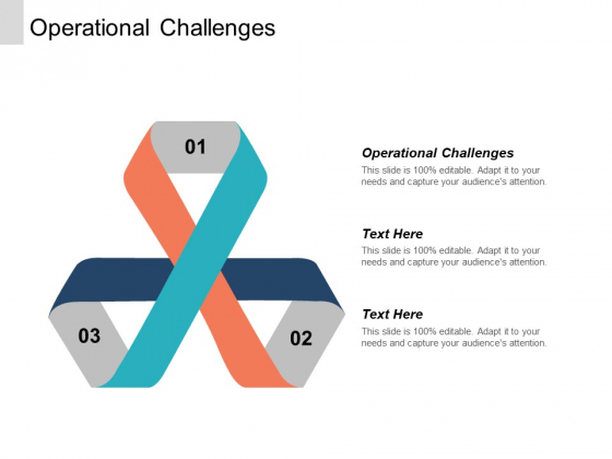 Operational Challenges Ppt PowerPoint Presentation Outline Smartart Cpb