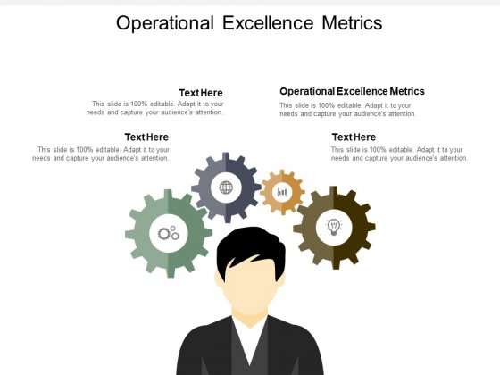 Operational Excellence Metrics Ppt PowerPoint Presentation Infographics Inspiration Cpb
