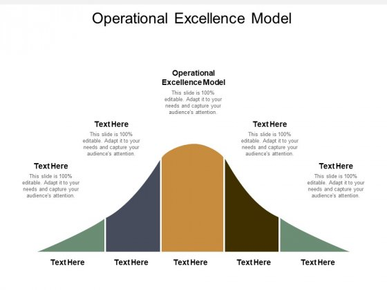 Operational Excellence Model Ppt PowerPoint Presentation Slides Background Cpb