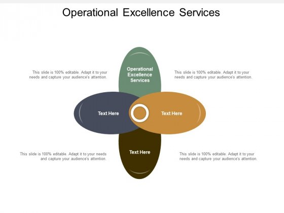 Operational Excellence Services Ppt PowerPoint Presentation Inspiration Example Cpb