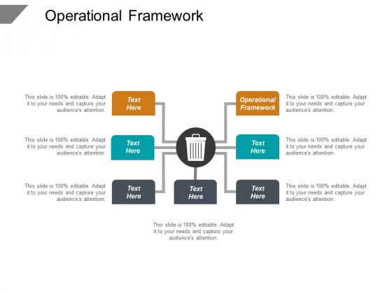 Operational Framework Ppt PowerPoint Presentation Outline Infographic Template Cpb