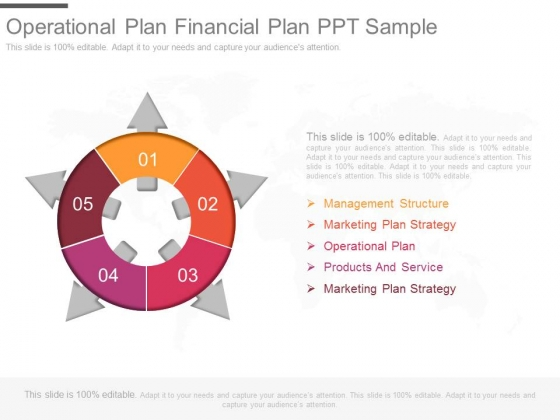 Operational Plan Financial Plan Ppt Sample