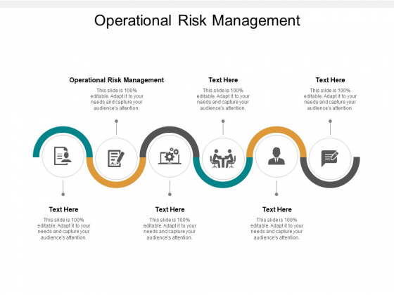 Operational Risk Management Ppt PowerPoint Presentation Infographics Cpb