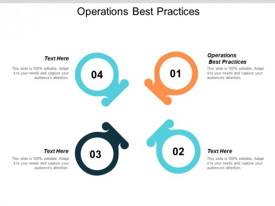 Operations Best Practices Ppt Powerpoint Presentation