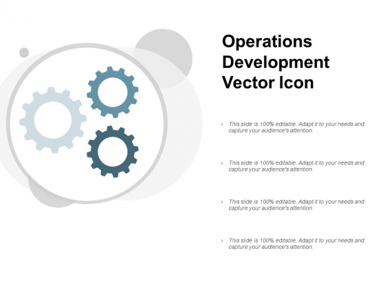 Operations Development Vector Icon Ppt PowerPoint Presentation Styles Brochure