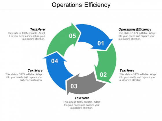 Operations Efficiency Ppt Powerpoint Presentation Outline Example Cpb