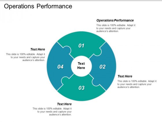 Operations Performance Ppt PowerPoint Presentation Ideas Show Cpb