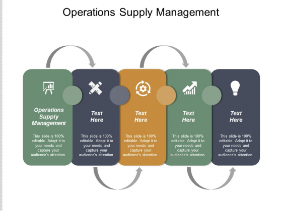 Operations Supply Management Ppt PowerPoint Presentation File Background Cpb