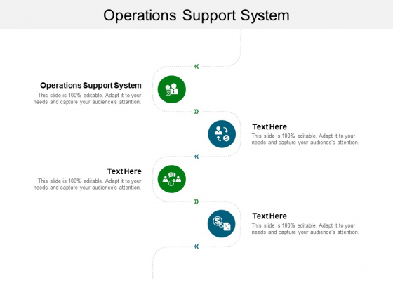 Operations Support System Ppt PowerPoint Presentation Summary Guide Cpb Pdf