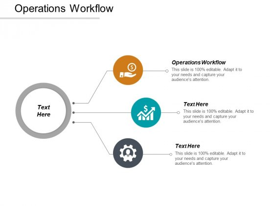 Operations Workflow Ppt PowerPoint Presentation Model Vector Cpb
