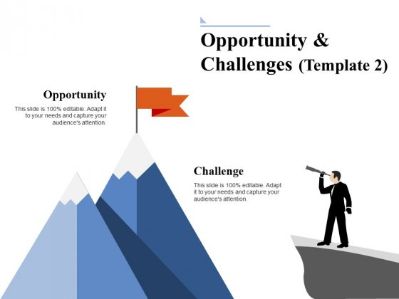 Opportunity And Challenges 2 Ppt PowerPoint Presentation Model Picture