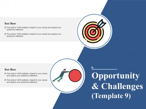 Opportunity And Challenges 9 Ppt PowerPoint Presentation Inspiration Slide Portrait