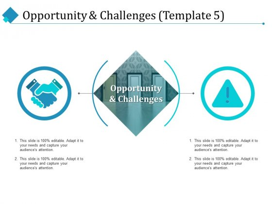 Opportunity And Challenges Challenges Ppt PowerPoint Presentation Gallery Master Slide