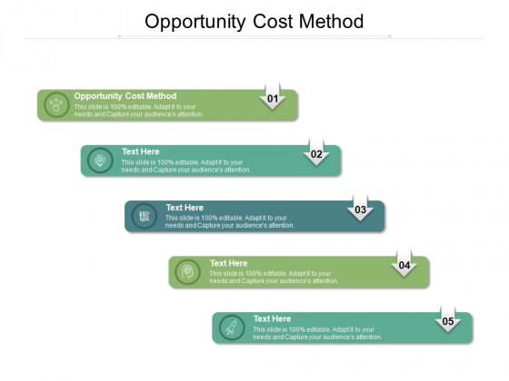 Opportunity Cost Method Ppt PowerPoint Presentation Infographics Portrait Cpb