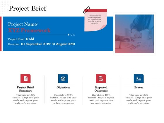 Opportunity Of Project Management Project Brief Ppt Layouts Clipart Images PDF