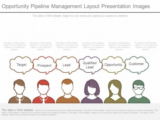 Opportunity Pipeline Management Layout Presentation Images
