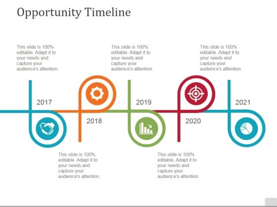 Opportunity Timeline Ppt PowerPoint Presentation Styles Aids