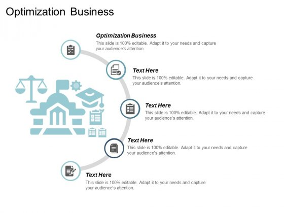 Optimization Business Ppt Powerpoint Presentation Gallery Good Cpb