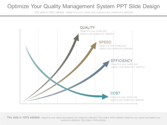 Optimize Your Quality Management System Ppt Slide Design