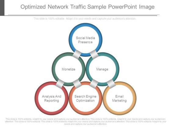 Optimized Network Traffic Sample Powerpoint Image