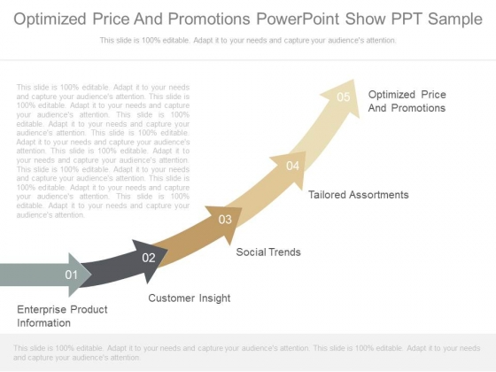 Optimized Price And Promotions Powerpoint Show Ppt Sample