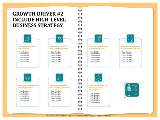 Optimizing Marketing Channel For Profit Increment Growth Driver 2 Include High Level Business Strategy Slides PDF