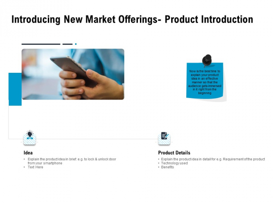Optimizing The Marketing Operations To Drive Efficiencies Introducing New Market Offerings Product Introduction Sample PDF