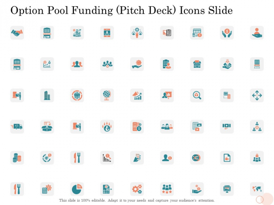 Option_Pool_Funding_Pitch_Deck_Icons_Slide_Pictures_PDF_Slide_1