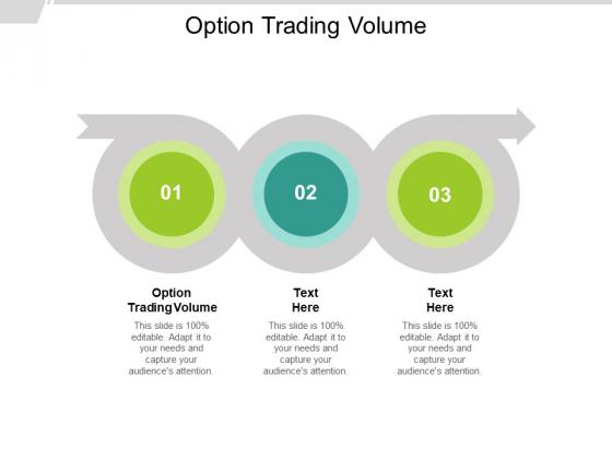 Option Trading Volume Ppt PowerPoint Presentation Styles Master Slide Cpb