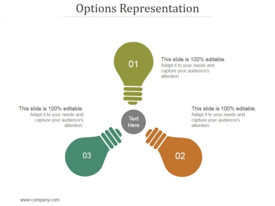 Options Representation Ppt PowerPoint Presentation Rules