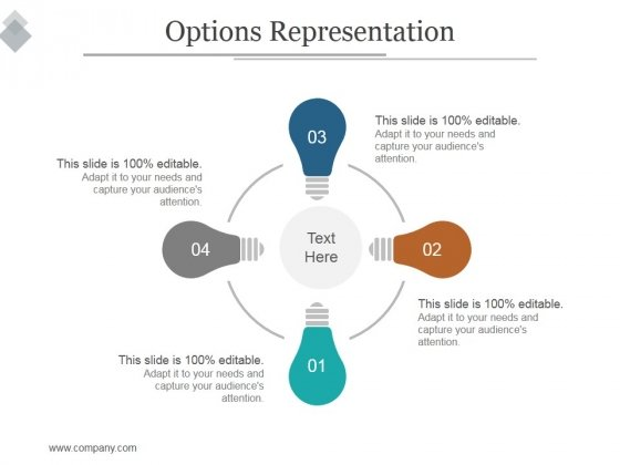 Options Representation Ppt PowerPoint Presentation Slides