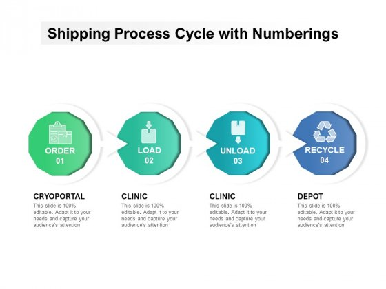 Order Delivery Process With Load And Unload Ppt PowerPoint Presentation Gallery Pictures PDF