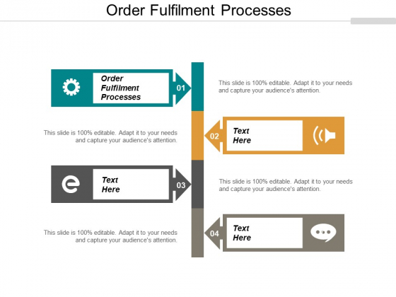 Order Fulfilment Processes Ppt PowerPoint Presentation Outline Mockup Cpb