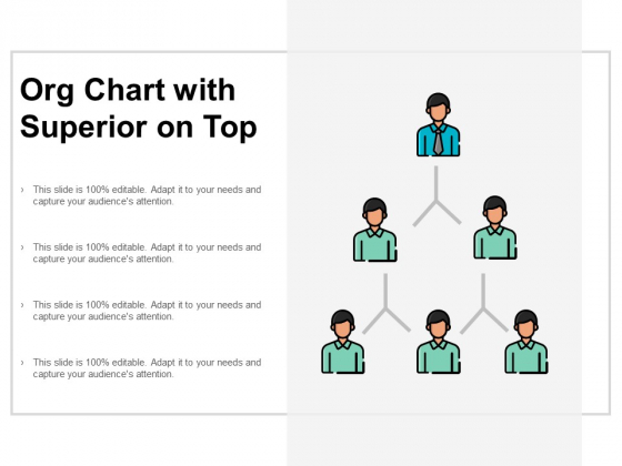 Org Chart With Superior On Top Ppt PowerPoint Presentation Layouts Layout
