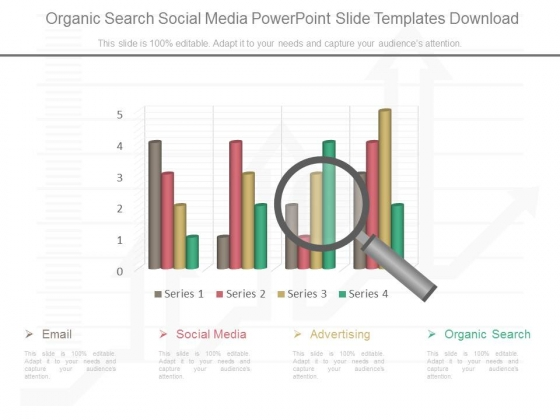 Organic Search Social Media Powerpoint Slide Templates Download