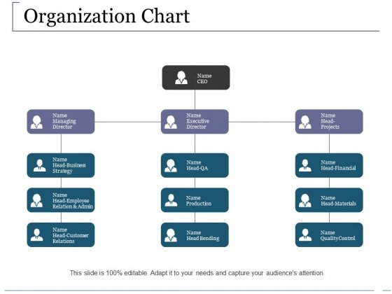 Organization Chart Ppt PowerPoint Presentation Ideas Inspiration