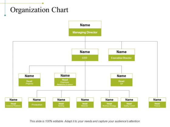Organization Chart Ppt PowerPoint Presentation Outline Design Templates