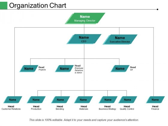 Organization Chart Ppt PowerPoint Presentation Pictures Structure
