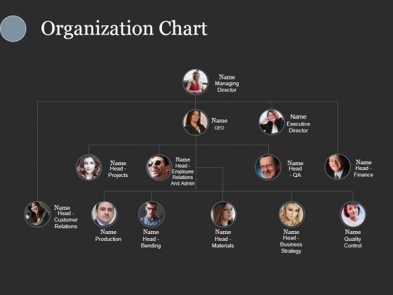 Organization Chart Ppt PowerPoint Presentation Styles Inspiration