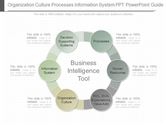 Organization Culture Processes Information System Ppt Powerpoint Guide