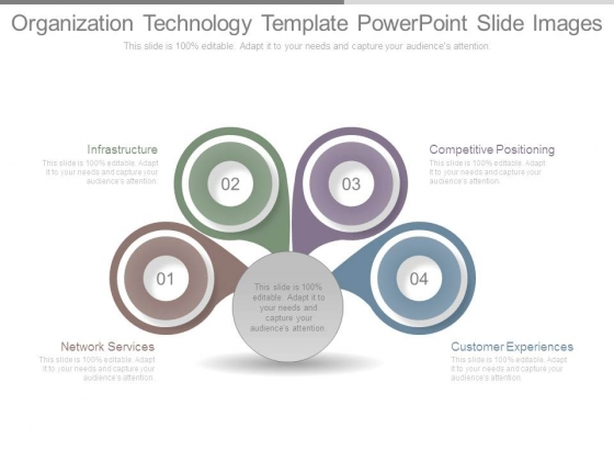 Organization Technology Template Powerpoint Slide Images