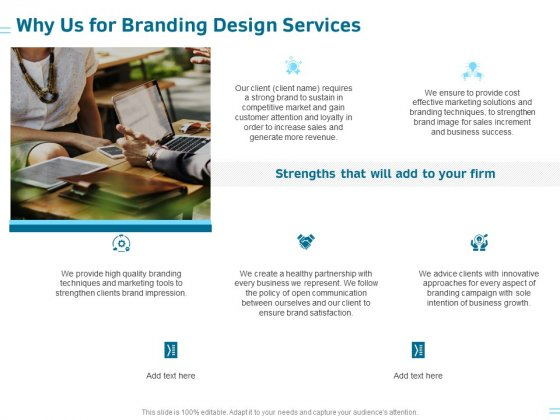 Organization Trademark Design Proposal Why Us For Branding Design Services Pictures PDF